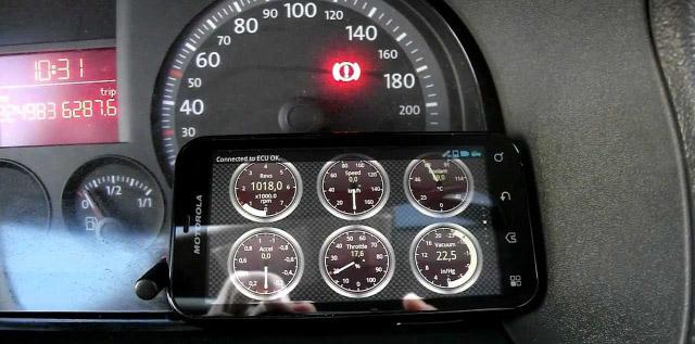 Диагностика автомобиля с помощью телефона
