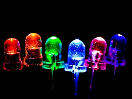 Разноцветные светодиоды для авто