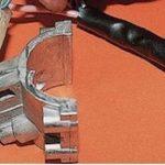 Демонтируйте выключатель и замените его на новый.