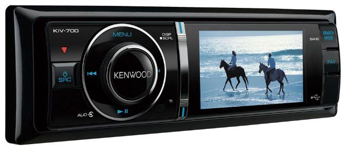 Головное устройство Kenwood с дисплеем