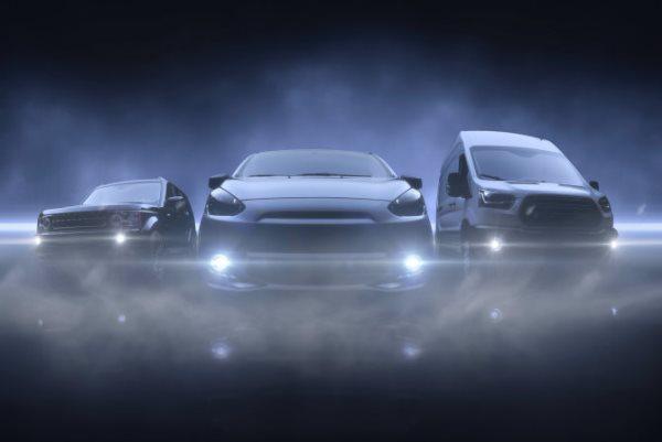 Три автомобиля в тумане