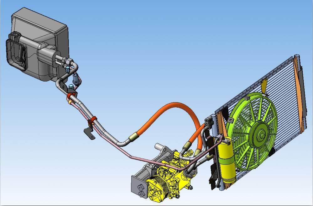 Схема работы кондиционера зарубежного производства Фрост