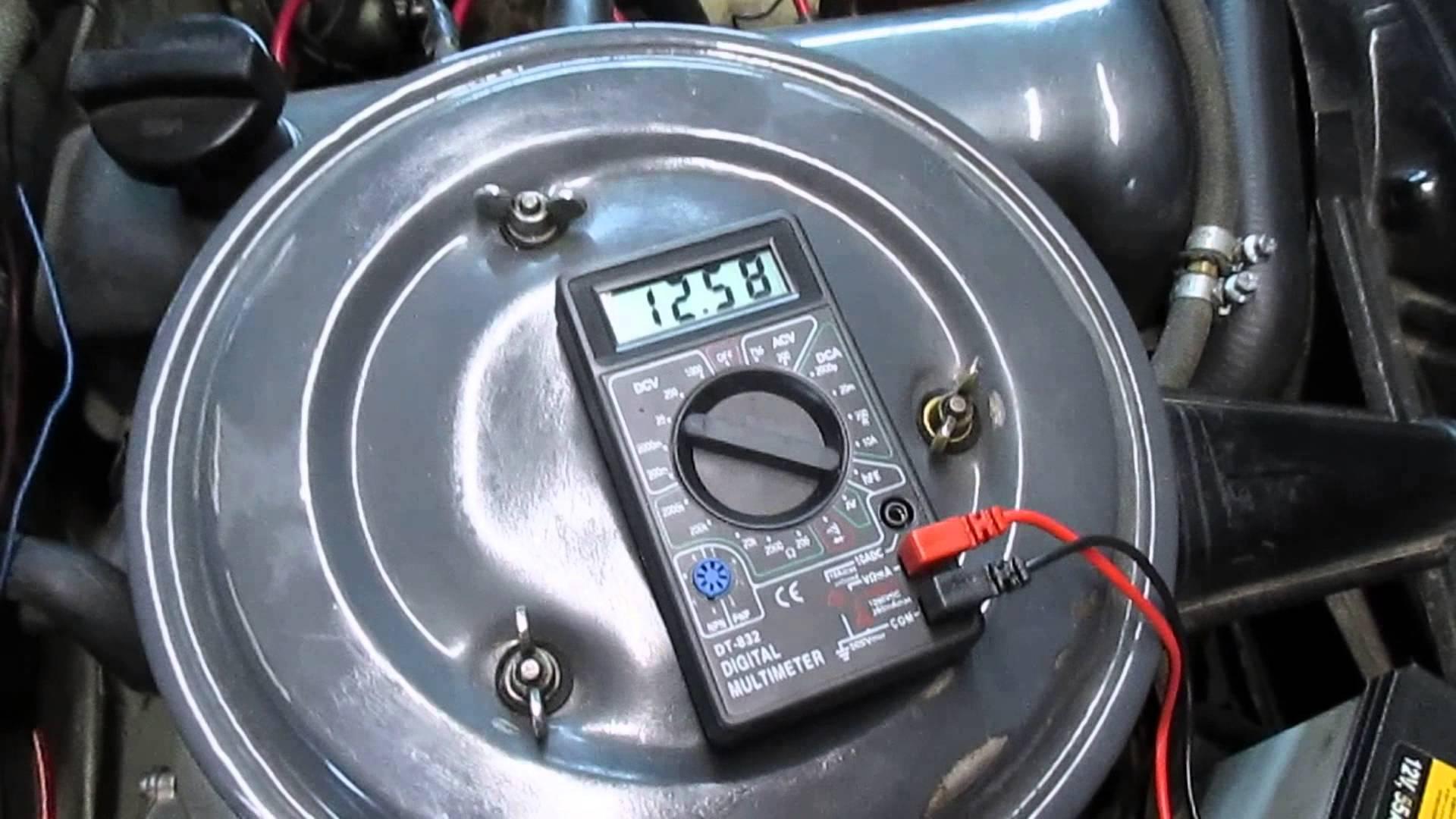 Мультиметр для измерения напряжения