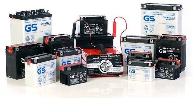 Батареи GS для мотоциклов