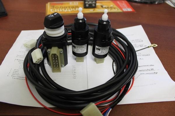 Набор для установки электрокорректора