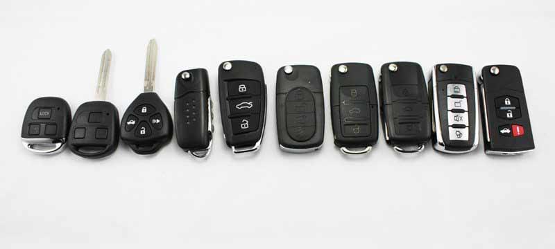 Десять чипов для управления разными автомобилями