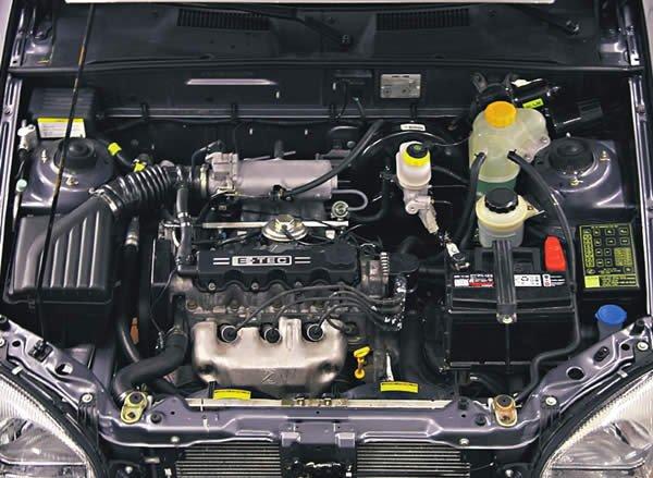 Внутренности Chevrolet Lanos