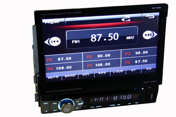 1DIN магнитола DVD Element-5 E5-1158T