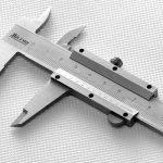 Штангельциркуль для измерений
