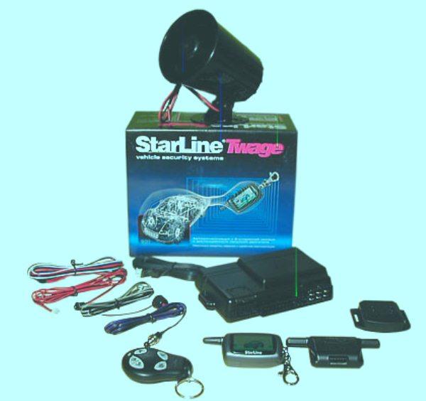 Комплект сигнализации Starline Twage A8