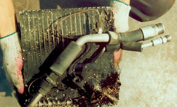 Загрязнения системы охлаждения