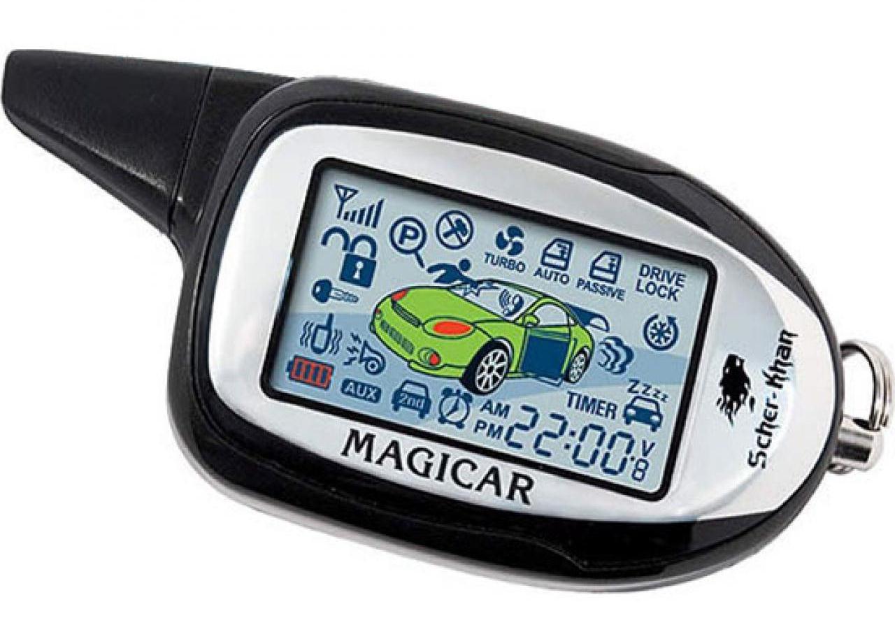 Пульт управления сигналкой Magicar