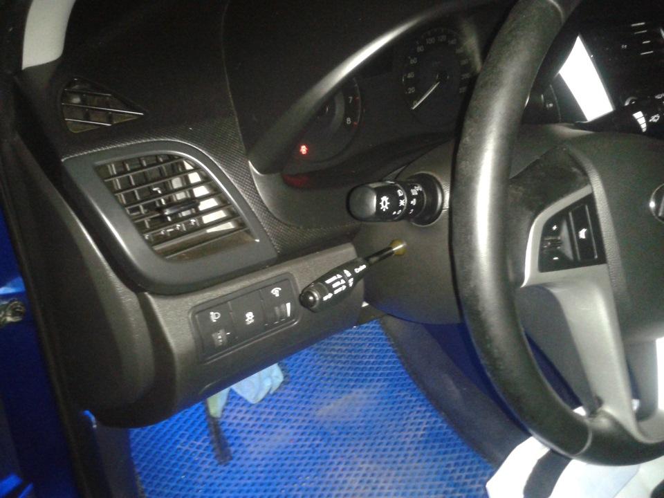 Рычаг круиз-контроля на руле