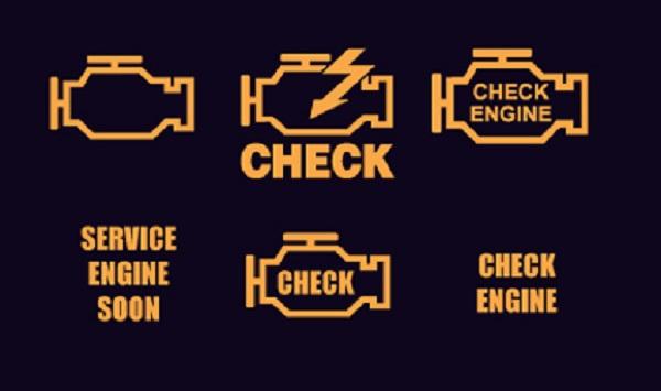 Надпись «Check Engine»