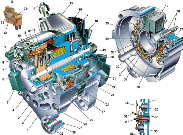 Схема конструкции устройства