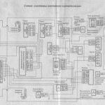 Схема аварийной сигнализации и поворотных огней