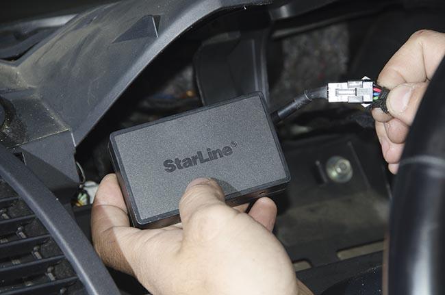 Подключение трекера Starline к бортовой сети автомобиля