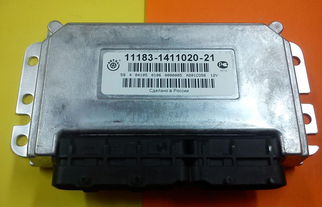 Контроллер электронной системы управления мотором российского производства
