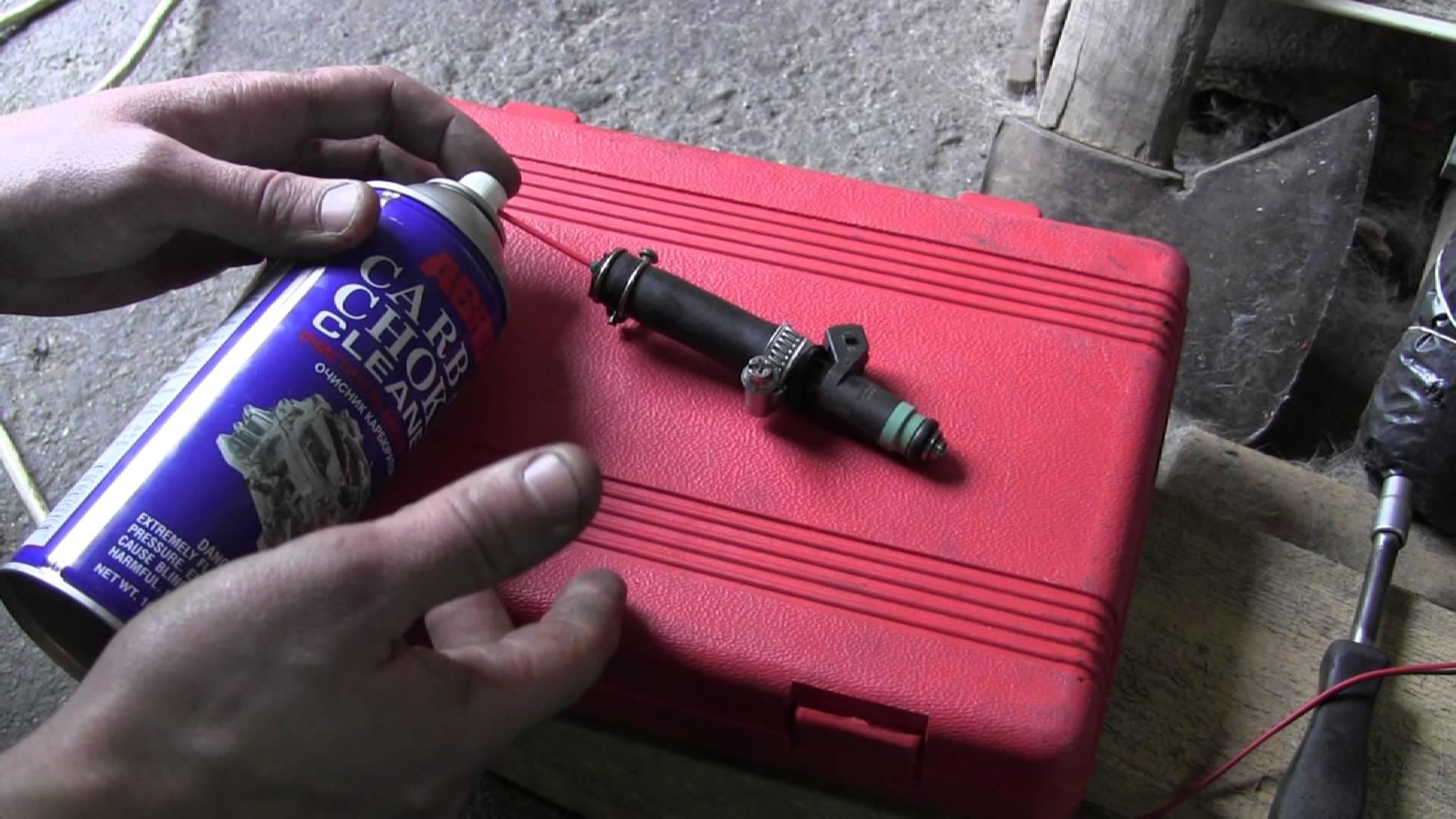 Использование карбюраторной жидкости для промывки
