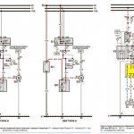 Схема подключения стартера, генераторного узла и замка зажигания