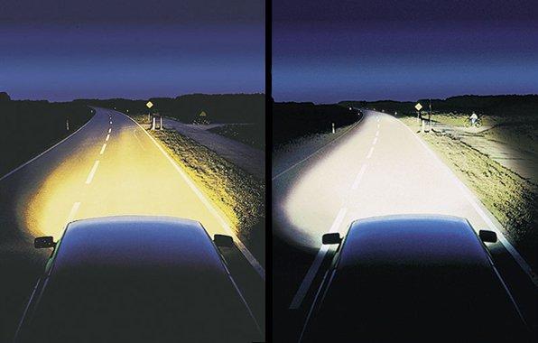 Свет от разных лампочек