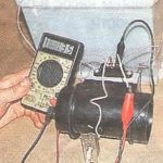 Диагностика расходомера вольтметром