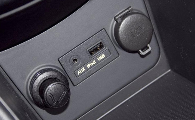 Деталь на приборной панели автомобиля