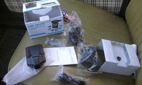 Комплектация устройства DVR-127